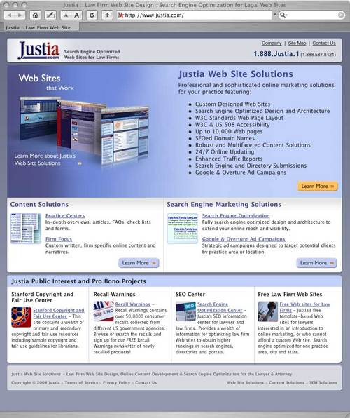 Justia Home Page