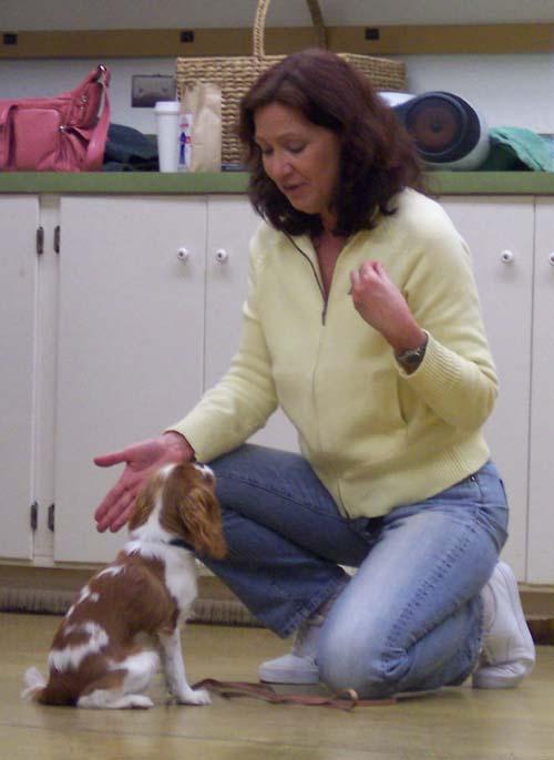 Carrie and Teacher