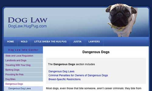 Dog Law de Hug Pug